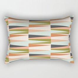 Scandinavian Geometry Pattern green #Homedecor Rectangular Pillow