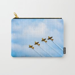 aircraft vintage airplanes aviation Carry-All Pouch