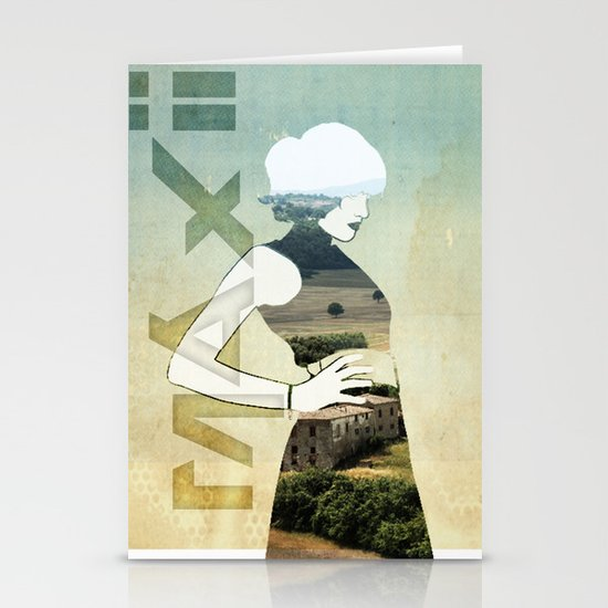 Maxii girl 02 Stationery Cards