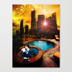 The Bright and The Shallow Canvas Print