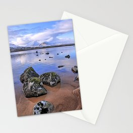 Rocking it on Rannoch Moor; Scottish highlands Stationery Cards