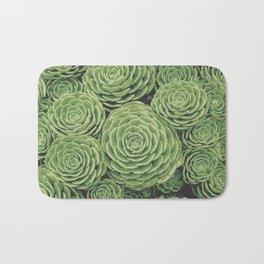 Succulents | Garden Plants Bath Mat