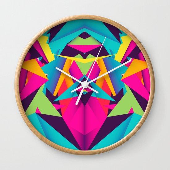 Friendly Color Wall Clock