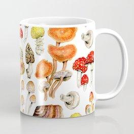 Mushroom Patterns Coffee Mug