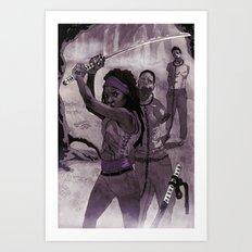 Michonne Art Print