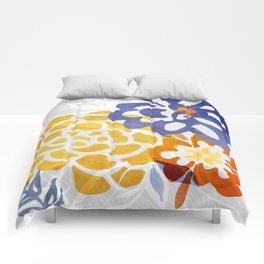 Bright Nature Abstract Comforters