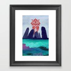Avatar: Spirits Book v2 Framed Art Print