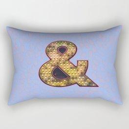 and glam Rectangular Pillow