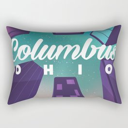 Colombus Ohio Rectangular Pillow