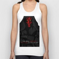 sith Tank Tops featuring sith lord by shizoy