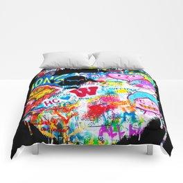 Graffiti Hypebeast Bape Illustration Comforters