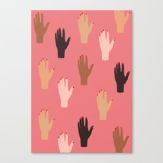 LADY FINGERS Canvas Print