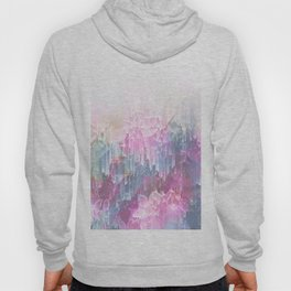 Magical Nature - Glitch Pink & Blue Hoody