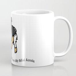 I Love My Mini Aussie Kawaii Coffee Mug
