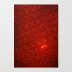 one of many devils Canvas Print