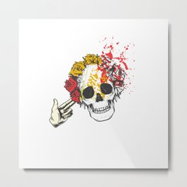 Shoot The Dead Metal Print