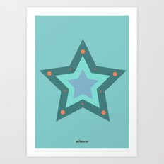 You are my star Art Print
