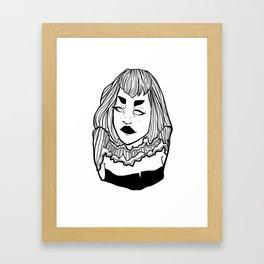 Lines 002 Framed Art Print