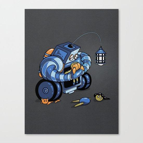 Lenny Canvas Print