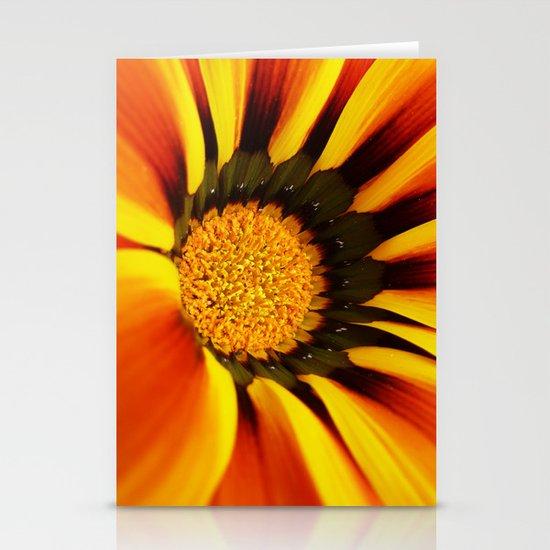 Orange flower Stationery Cards