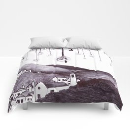 small star without the sky (piccola stella senza cielo) Comforters