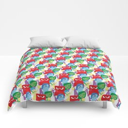 Inside Out - All Over Print Comforters