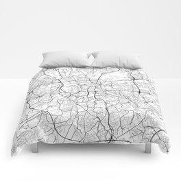 Dortmund Map White Comforters