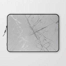 Silver Splatter 089 Laptop Sleeve