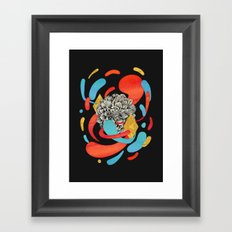 The Flower Fades Framed Art Print