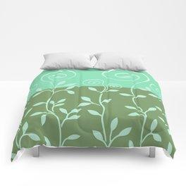 VINEIRI | moss aqua Comforters