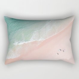 Surf Yoga II Rectangular Pillow