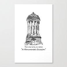 Monument 2 Canvas Print