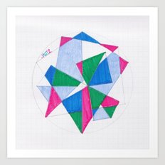 Kite-Netic #2 Art Print