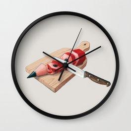 Pencilsnack Wall Clock