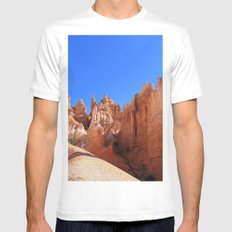 Bryce Canyon Mens Fitted Tee White MEDIUM