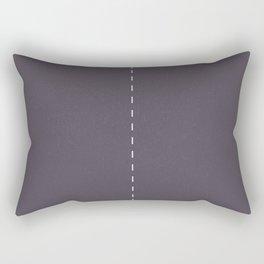 2 lanes, Time Rider Rectangular Pillow