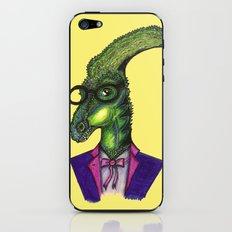 Hipster Dino iPhone & iPod Skin