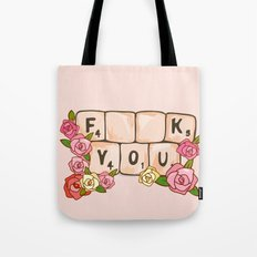 F **U  YOU Tote Bag