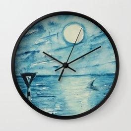 Shark sign Wall Clock