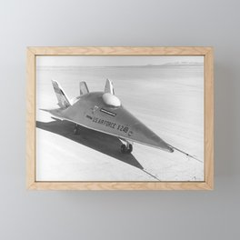 X-24B - NASA Flight Research Center - 1972 Framed Mini Art Print