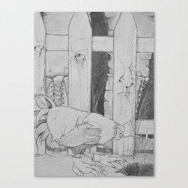 Farm Hands Canvas Print
