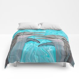 Dolphin Chatter Comforters
