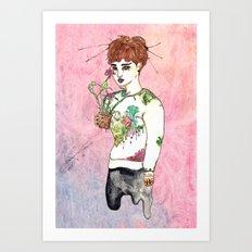Flourish Kai Art Print