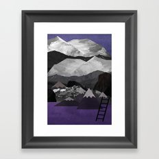 Portals: Alps Framed Art Print