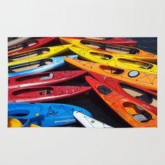 Kayaks Rug
