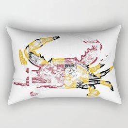 Maryland Crab Rectangular Pillow