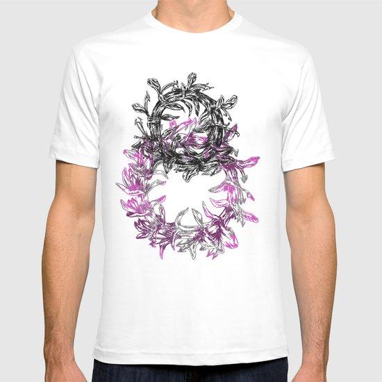 Flowers Circle T-shirt