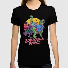 The Bodacious Period Womens Fitted Tee Black LARGE