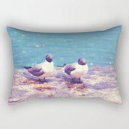 Two Little Birds Rectangular Pillow