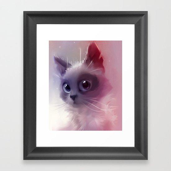 Kami Framed Art Print